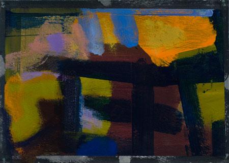 "acrylic/paper, 5x7"", 2012"